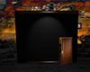 Black Wall w/Door