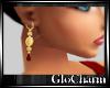 Glo* Garnet Gold Drop