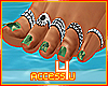 ! Army Nails/Toe Rings