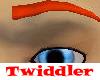 Tricky Eyebrows Orange