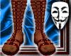 Roman Sandals v1 Rd/Slv