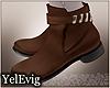 [Y] Hernan brown boots M