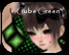 suki cube Green earring