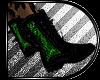 [V] Punk Boots:: GREEN