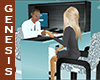WD Ani Desk White Doctor