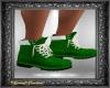 Green Christmas Boots