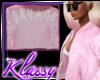 KK | Pink Savage Bomber