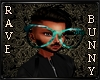 [RB] Teal Wolf Glasses M