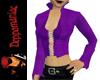 Purple Pirate Jacket Top