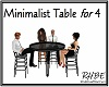 RHBE.MinimalistTable/4
