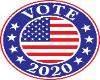 Vote 2020 Sticker
