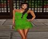 Crochet Dress-Green
