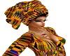 AFRICAN KENTI HEAD WRAP
