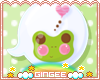 :G: Froggy Speech Bubble