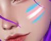 Trans Face Paint