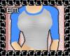 [EM] Baseball Tee - Blue