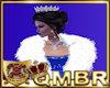 QMBR Fur Shrug White
