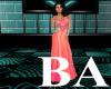 [BA] Orange Lady Gown