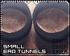 Black Small Tunnels