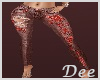 Red Butterfly Jeans