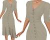 TF* Modest Khaki dress
