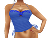 ShoeString Top Blue