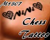 Nini chess tattoo