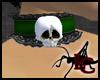 Skull Lace Collar G/B