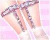 ♡ Blue Maid socks