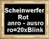 HB Scheinwerfer rot