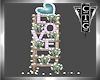 CTG LOVE LADDER & PLANTS