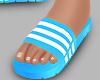 r. Blue Sandal