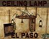 [M] EL PASO Ceiling Lamp