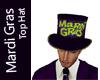 Mardi Gras Party Top Hat