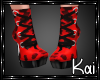 RED CHEETAH BOOTS