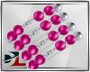 [DL]bracelet pink silv