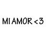 KA: Mi amor headsign