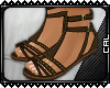 [c] Bree Sandals Brown