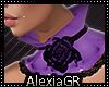 [A] Allure Purple Choker