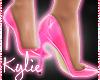Plastic Doll Heels