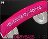 !B Pink Headphones M