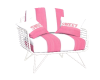 Striped Sweet Chair