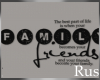 Rus: Family Wall Decal 2
