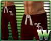 *WW* AF Sweat Pants Red