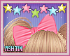 ! KID Pink Bow In Hair