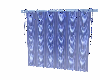 BLUE LIGHTED DRAPES
