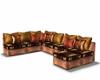 Deco Leather Sofa