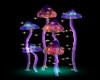 Mushrooms w/stars