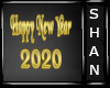 Happy New Year Sign 2020