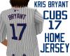 CUBS Kris Bryant Jersey